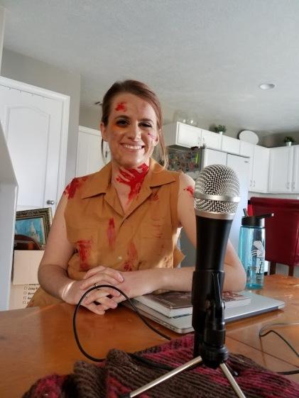 Pop Culture Footnotes_Shannon Recording Zombie Episode